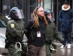 Arrested while managing the CUTV livestream team at the Anti-police brutality march 15,2013